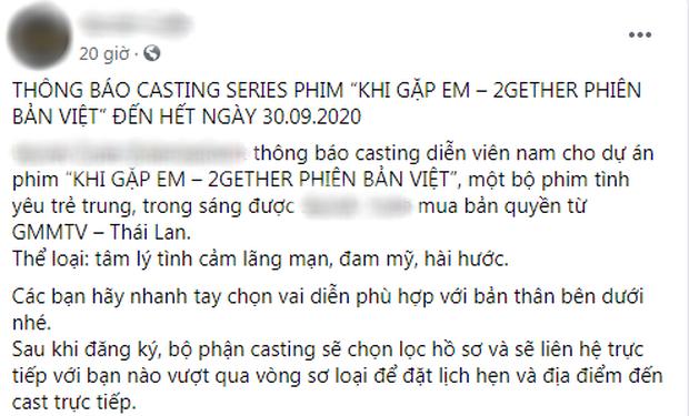 Rộ tin bom tấn đam mỹ 2gether sắp có bản Việt, nhưng dàn nhân vật tên tiếng Anh mới khiến dân tình xỉu ngang? - Ảnh 2.