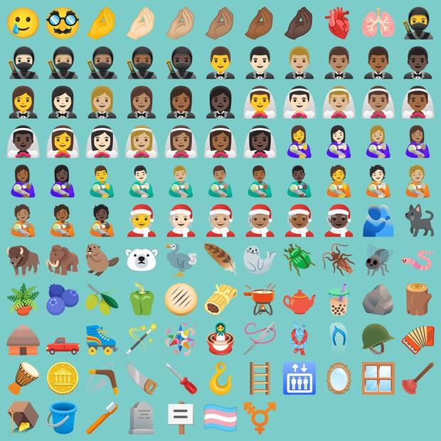 Android 11 ghi điểm với bộ emoji mới đẹp mắt và bớt sến hơn trước - Ảnh 1.