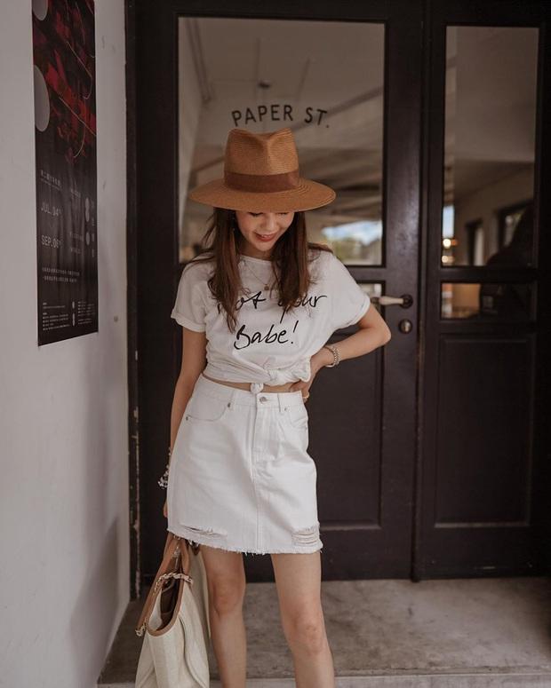 12 set đồ đơn giản mà cực sang xịn của gái châu Á, xem qua bạn sẽ không bao giờ bí ý tưởng mặc đẹp - Ảnh 19.
