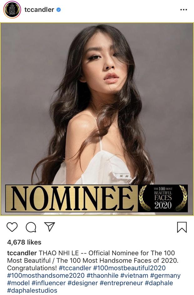 Thảo Nhi Lê bất ngờ lọt vào danh sách đề cử Top 100 gương mặt đẹp nhất thế giới - Ảnh 2.