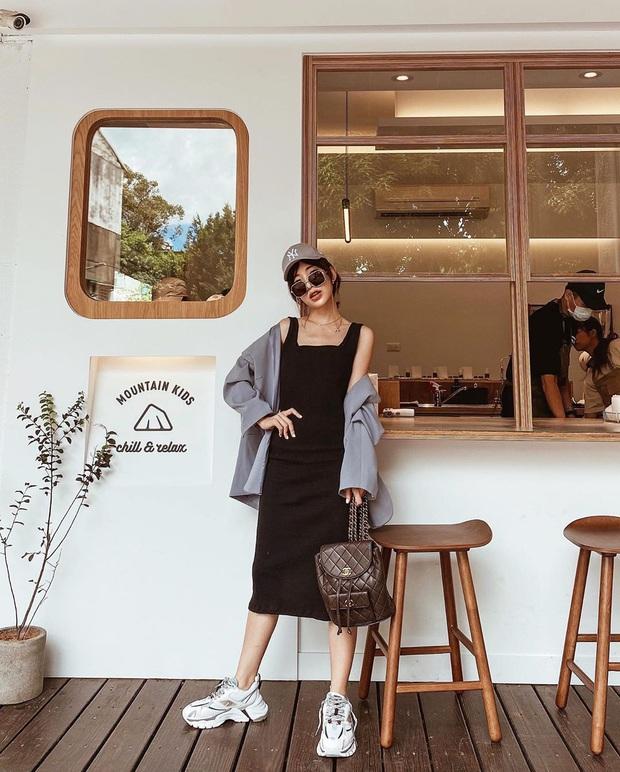 12 set đồ đơn giản mà cực sang xịn của gái châu Á, xem qua bạn sẽ không bao giờ bí ý tưởng mặc đẹp - Ảnh 11.