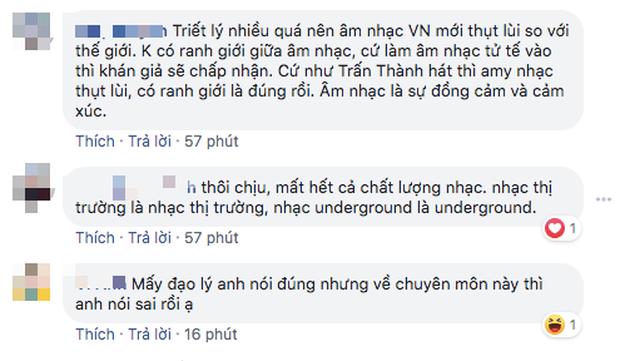 Nổ ra tranh cãi kịch liệt sau phát biểu của Trấn Thành: Rap Việt xoá nhoà ranh giới Underground và nhạc chính thống - Ảnh 9.