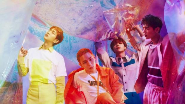 30 nhóm nhạc nam hot nhất hiện nay: Bộ 3 quyền lực nhất tranh đấu quyết liệt, bất ngờ với thứ hạng của em trai BTS - Ảnh 6.
