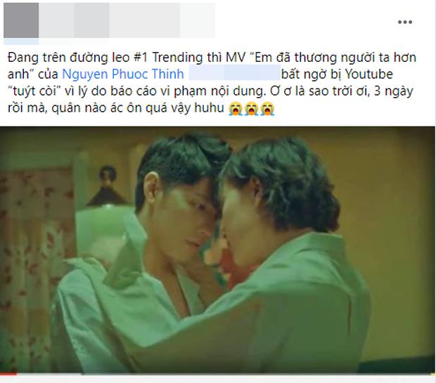 MV của Noo Phước Thịnh bất ngờ bị YouTube tuýt còi vì có nội dung nhạy cảm với lứa tuổi, từ top 3 trending giờ hoàn toàn bay màu - Ảnh 7.