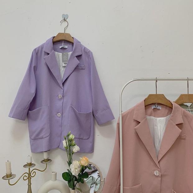 Mê hoặc loạt mỹ nhân Cbiz lúc này là blazer màu tím lilac, sắm theo là được khen ăn mặc có gu - Ảnh 12.