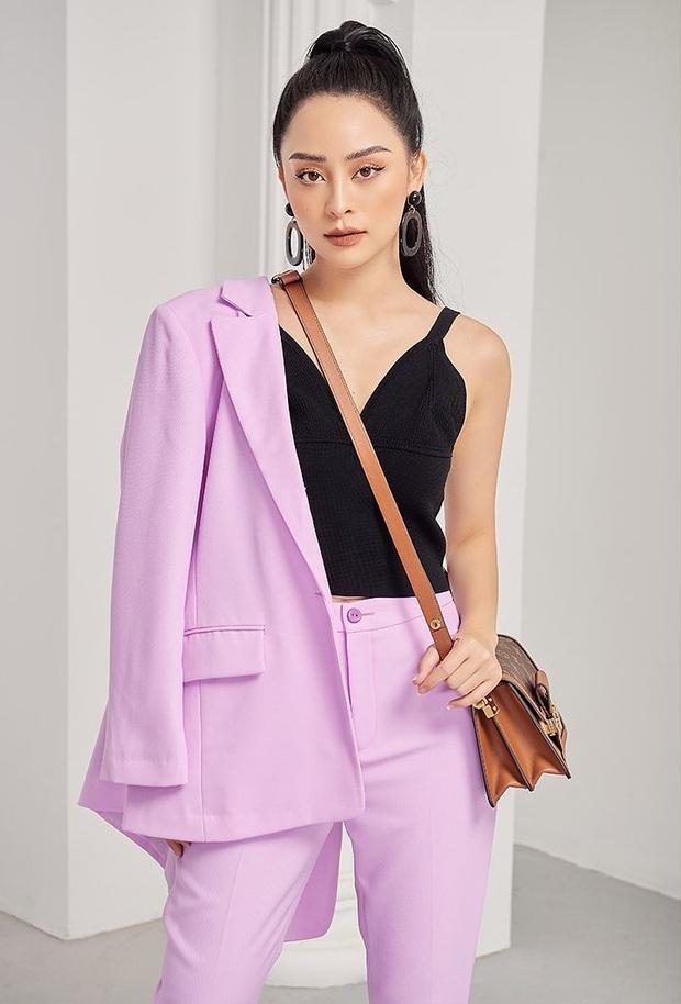 Mê hoặc loạt mỹ nhân Cbiz lúc này là blazer màu tím lilac, sắm theo là được khen ăn mặc có gu - Ảnh 16.