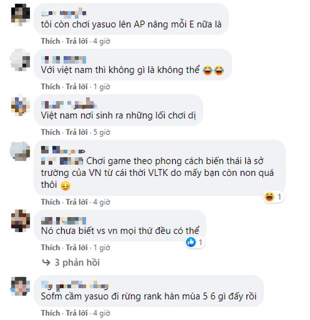 Game thủ Hàn kinh hãi trước Yasuo đi rừng, fan LMHT Việt đồng thanh hỏi lại: Thế đã thấy Yasuo SP bao giờ chưa? - Ảnh 5.