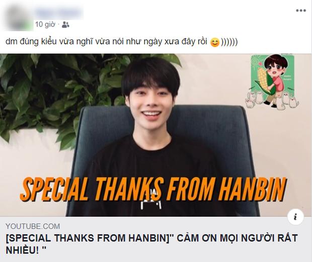 Hanbin từ Hàn Quốc quay clip cảm ơn fan, netizen trêu ngay: 20 năm theo Kpop mới được xem idol nói tiếng Việt không cần phụ đề - Ảnh 4.