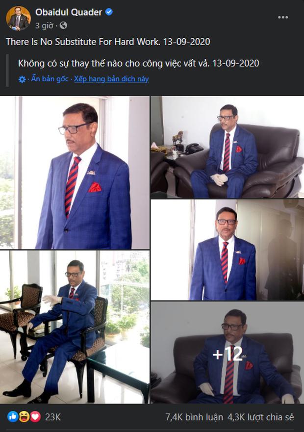 Bộ trưởng Bangladesh là người mê chụp ảnh nhất quả đất: Đăng một phát 10.575 bức ảnh, hằng ngày up chơi chơi chục tấm - Ảnh 2.