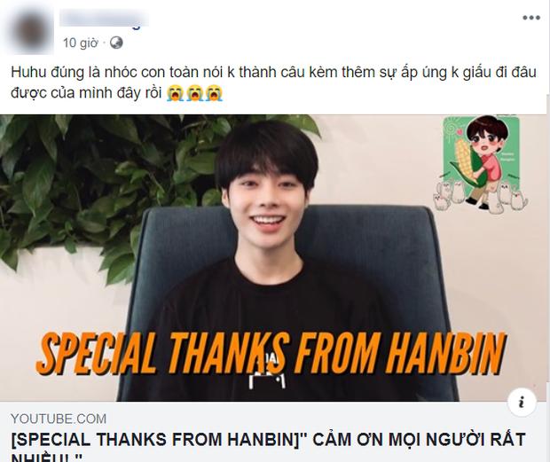 Hanbin từ Hàn Quốc quay clip cảm ơn fan, netizen trêu ngay: 20 năm theo Kpop mới được xem idol nói tiếng Việt không cần phụ đề - Ảnh 5.