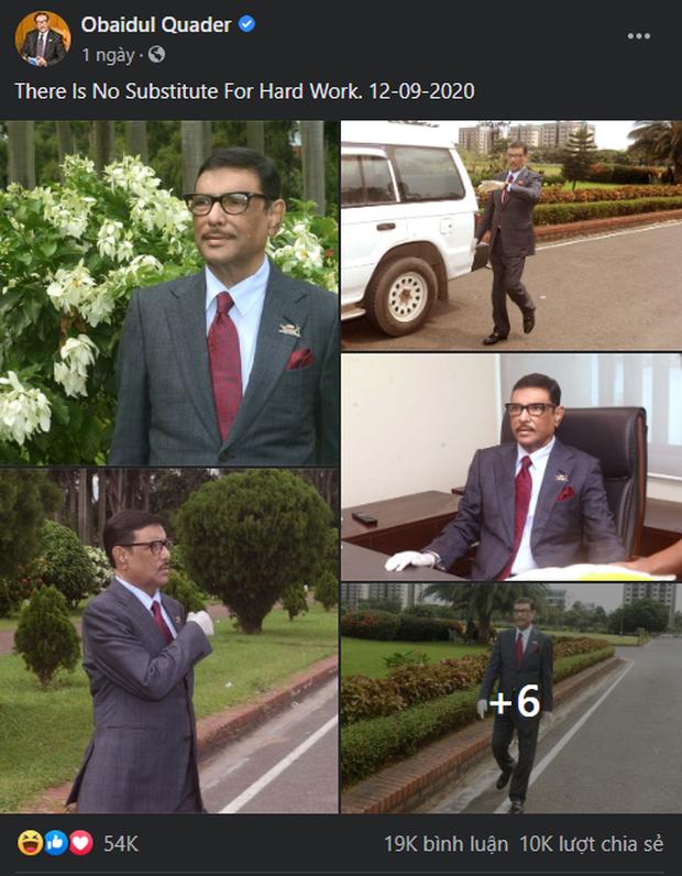Bộ trưởng Bangladesh là người mê chụp ảnh nhất quả đất: Đăng một phát 10.575 bức ảnh, hằng ngày up chơi chơi chục tấm - Ảnh 3.