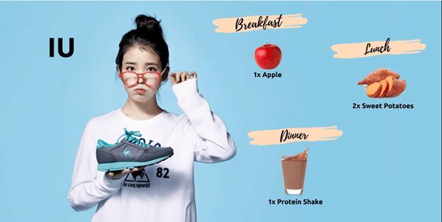 Học chế độ ăn kiêng của IU, hot blogger xứ kim chi giảm gần 3kg chỉ sau 3 ngày - Ảnh 3.