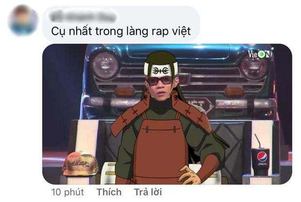 """Thầy trò Wowy của Rap Việt """"biến thân"""" thành Naruto, netizen hú gọi Binz """"tóc hồng"""" nhập bọn cho xôm tụ - Ảnh 13."""