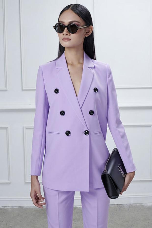 Mê hoặc loạt mỹ nhân Cbiz lúc này là blazer màu tím lilac, sắm theo là được khen ăn mặc có gu - Ảnh 18.
