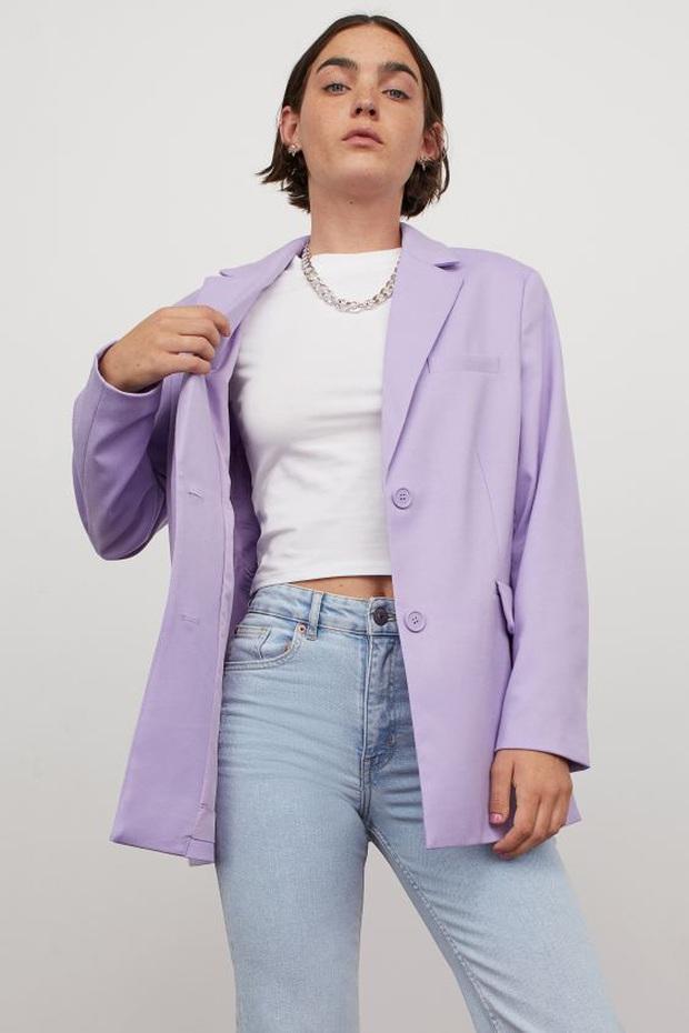 Mê hoặc loạt mỹ nhân Cbiz lúc này là blazer màu tím lilac, sắm theo là được khen ăn mặc có gu - Ảnh 8.