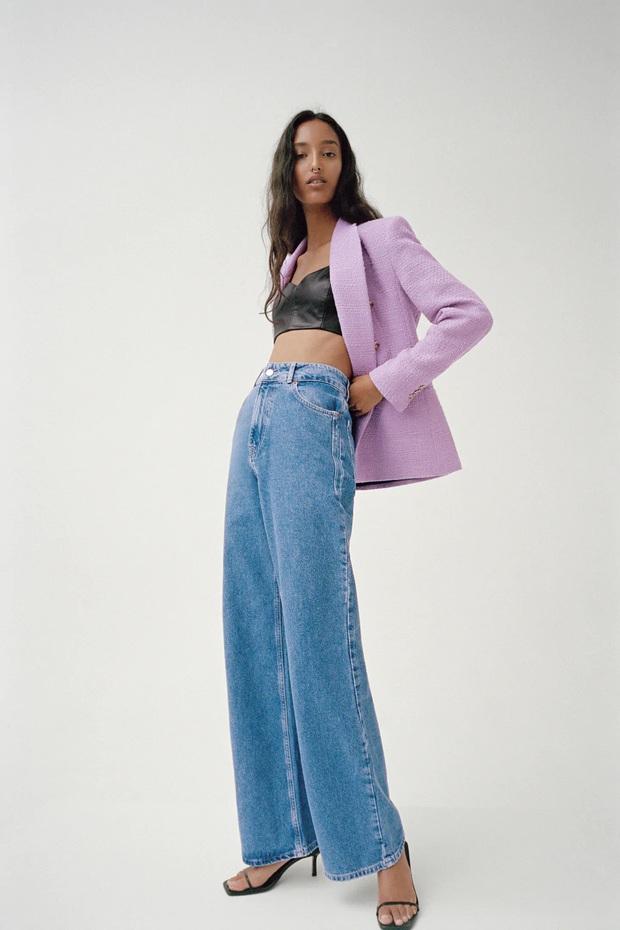 Mê hoặc loạt mỹ nhân Cbiz lúc này là blazer màu tím lilac, sắm theo là được khen ăn mặc có gu - Ảnh 10.