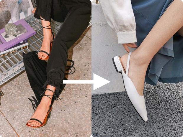 Ngay khi sang Thu, đây là 2 kiểu giày dép các nàng nên cho về vườn - Ảnh 4.