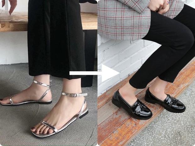 Ngay khi sang Thu, đây là 2 kiểu giày dép các nàng nên cho về vườn - Ảnh 5.