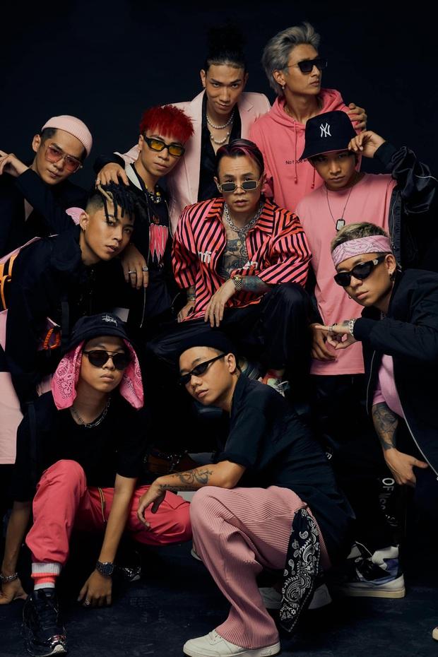 """Thầy trò Wowy của Rap Việt """"biến thân"""" thành Naruto, netizen hú gọi Binz """"tóc hồng"""" nhập bọn cho xôm tụ - Ảnh 10."""