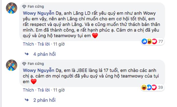 Lăng LD bị cho rằng khinh thường đối thủ JBee7, HLV Wowy có động thái bênh vực ngay và luôn khiến netizen tấm tắc - Ảnh 7.