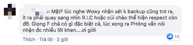 Thí sinh team HLV Wowy bị chỉ trích khi bỏ rap phần hỗ trợ bạn diễn: Chơi không đẹp, tài năng không xứng đáng để đi tiếp? - Ảnh 8.