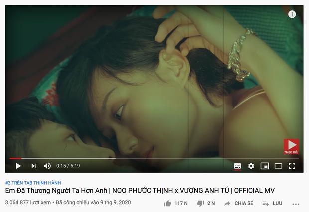 MV của Noo Phước Thịnh bất ngờ bị YouTube tuýt còi vì nội dung nhạy cảm với lứa tuổi, top 3 trending có bay màu? - Ảnh 9.