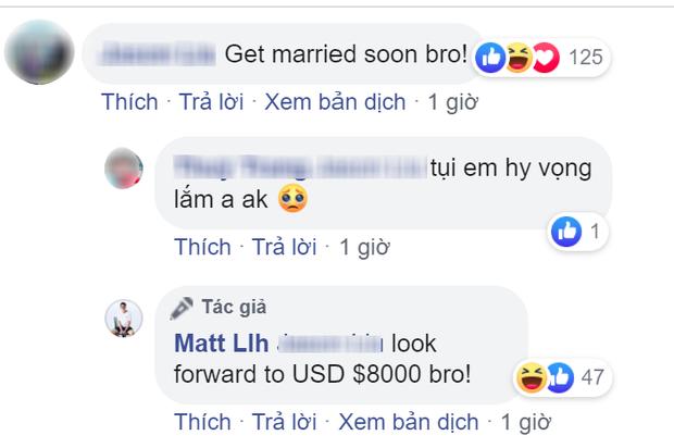 Liên tục bị giục kết hôn khi đang hẹn hò Hương Giang, Matt Liu liền có động thái đáng chú ý - Ảnh 3.