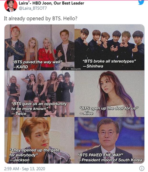Biến Kpop: Jennie (BLACKPINK) bị khủng bố diện rộng vì phát ngôn gây tranh cãi, fan quốc tế réo gọi BTS và PSY - Ảnh 8.