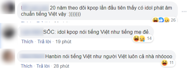 Hanbin từ Hàn Quốc quay clip cảm ơn fan, netizen trêu ngay: 20 năm theo Kpop mới được xem idol nói tiếng Việt không cần phụ đề - Ảnh 2.