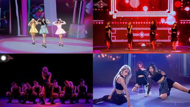 Sakura và Eunbi (IZ*ONE) cover lại hit của IRENE - SEULGI tại concert trực tuyến: Fan phát điên vì ngầu quá đi thôi! - Ảnh 4.
