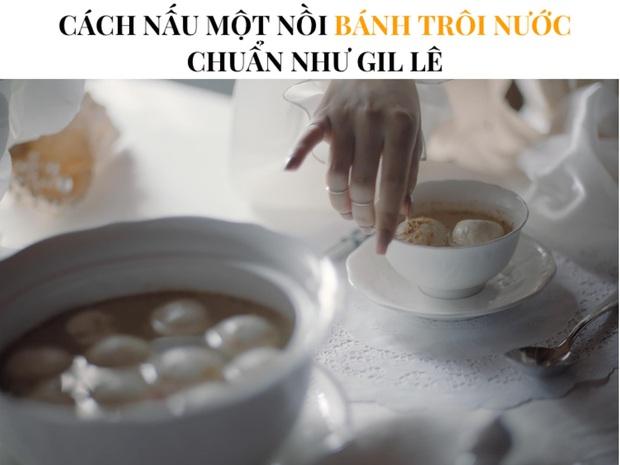 Màn làm bánh trôi nước quý tộc đến từ phía Gil Lê: Thế này mà bán thì phải gấp đôi giá vì quá cầu kỳ - Ảnh 1.