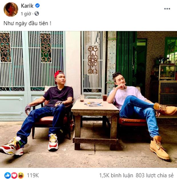 Wowy và Karik đi ngược về quá khứ, hợp tác làm MV remake bản rap Khu Tao Sống đình đám 10 năm trước? - Ảnh 4.