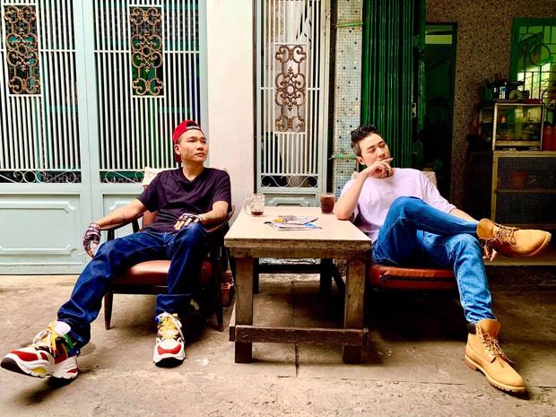 Wowy và Karik đi ngược về quá khứ, hợp tác làm MV remake bản rap Khu Tao Sống đình đám 10 năm trước? - Ảnh 6.