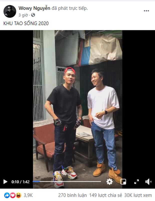 Wowy và Karik đi ngược về quá khứ, hợp tác làm MV remake bản rap Khu Tao Sống đình đám 10 năm trước? - Ảnh 1.