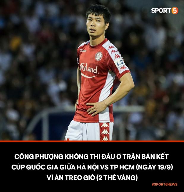Công Phượng bị treo giò, fan vỡ mộng khi không được chứng kiến hai cầu thủ tấn công hay nhất Việt Nam đối đầu - Ảnh 1.