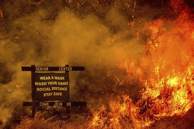 Ít nhất 33 người thiệt mạng do cháy rừng ở Mỹ - Ảnh 1.