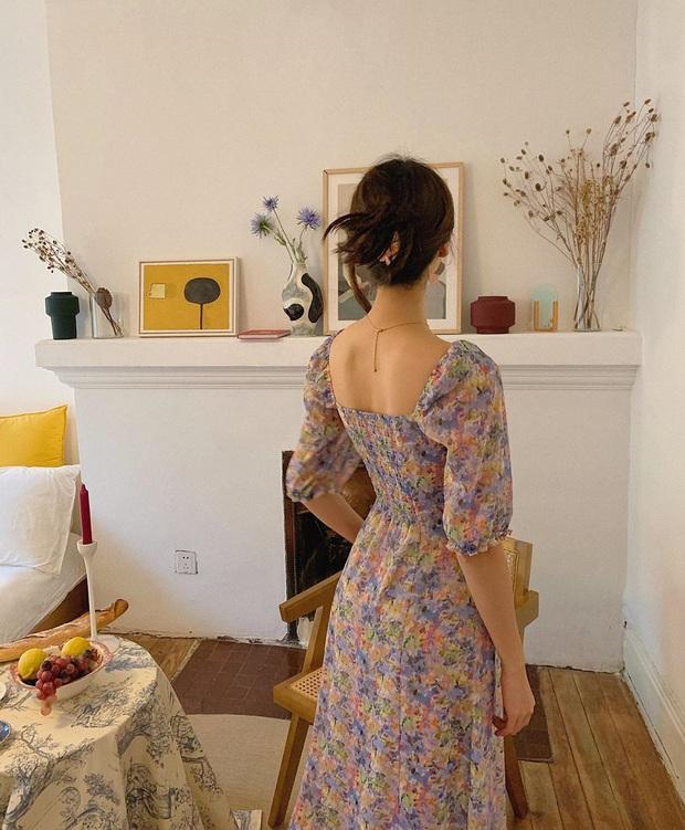 Cứ Thu đến các cô gái Pháp lại diện váy hoa, mặc vừa xinh lại còn siêu thanh lịch - Ảnh 4.