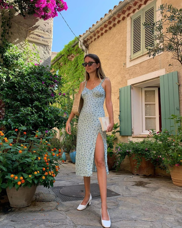 Cứ Thu đến các cô gái Pháp lại diện váy hoa, mặc vừa xinh lại còn siêu thanh lịch - Ảnh 5.