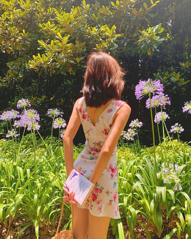 Cứ Thu đến các cô gái Pháp lại diện váy hoa, mặc vừa xinh lại còn siêu thanh lịch - Ảnh 6.