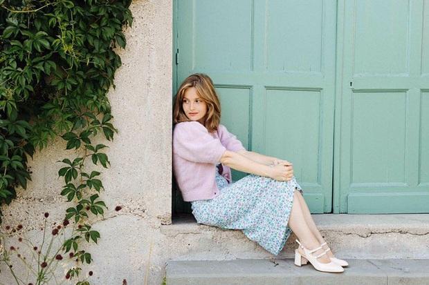 Cứ Thu đến các cô gái Pháp lại diện váy hoa, mặc vừa xinh lại còn siêu thanh lịch - Ảnh 7.