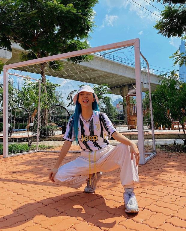 """Street style sao Việt: Ngọc Trinh vô tư diện bikini ra đường, Hương Giang """"tương"""" lại đôi giày cà kheo tai tiếng - Ảnh 7."""