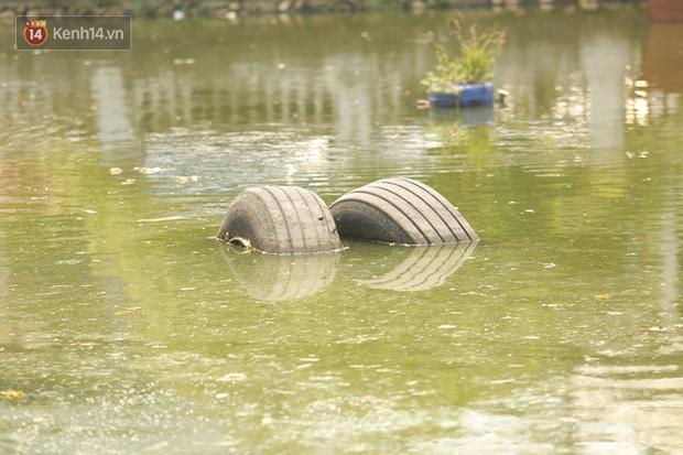 Ảnh: Cận cảnh chiếc máy bay B52 bị bắn rơi, nằm giữa lòng hồ ở Hà Nội suốt 48 năm - Ảnh 8.