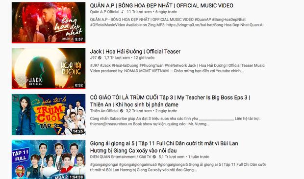Sau 12 tiếng tung teaser MV, Jack bị oan gia ngõ hẹp Quân A.P chặn đường lên top 1 trending YouTube - Ảnh 4.