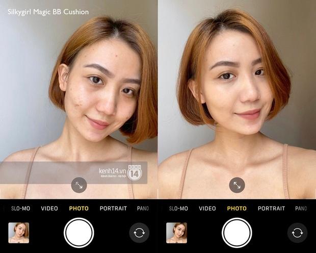 Review 5 cushion dưới 400k: Che cả thâm mụn và lỗ chân lông, chụp selfie bằng cam thường da vẫn mịn căng - Ảnh 6.