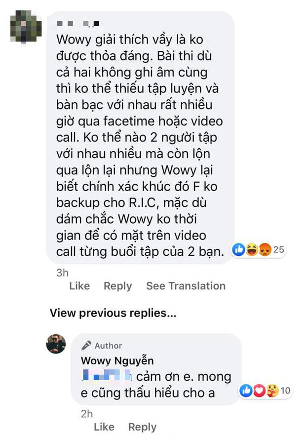 HLV Wowy kêu gọi cộng đồng mạng dừng bắt nạt học trò, đáp trả ý kiến anh phản ứng gay gắt với giám khảo Rap Việt - Ảnh 6.