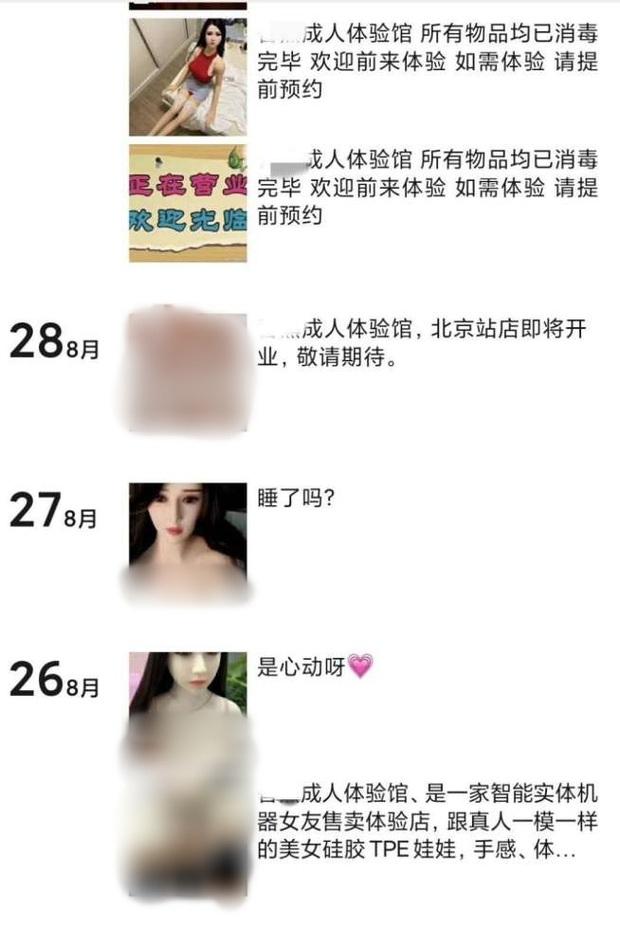 Trải nghiệm người lớn với búp bê tình dục - Tụ điểm mại dâm mới của những thanh niên Trung Quốc ế vợ? - Ảnh 4.