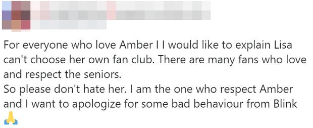 Bị chế giễu là không đủ tầm chung mâm với Lisa ở mảng rap, Amber f(x) có phản ứng khiến antifan câm nín luôn! - Ảnh 9.