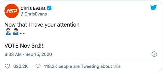 Captain Chris Evans trả lời ngắn mà cực khéo về vụ lộ ảnh 18+ chấn động thế giới, khiến dàn sao Hollywood thích thú - Ảnh 4.