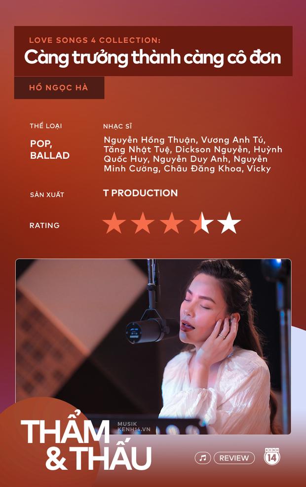 Love Songs Collection 4: Hành trình từ run rẩy, bản năng đến đằm thắm trong cách hát của Hồ Ngọc Hà - Ảnh 13.