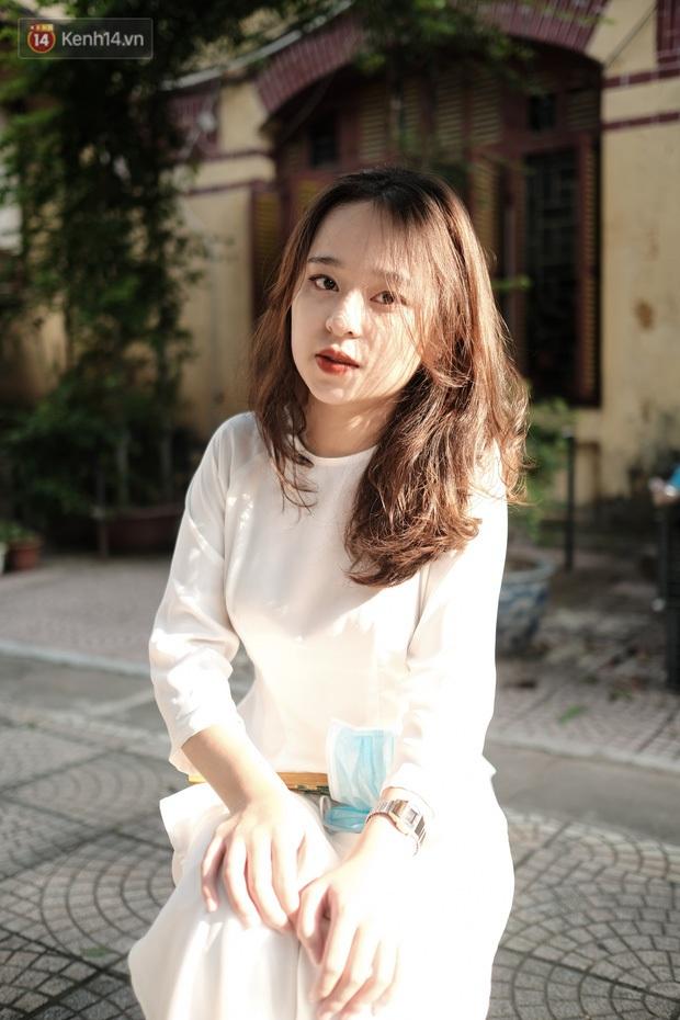 Gặp nữ sinh chiếm trọn spotlight mùa #Back2school của THPT Trần Phú nhờ giảm 10kg, diện áo dài cực đẹp - Ảnh 1.